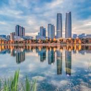 金融城现代建筑群