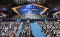 第二届中国(绵阳)科技城国际科技博览会在九洲体育馆开幕。
