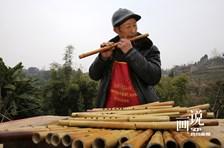 四川内江:手工竹笛促增收