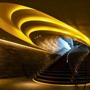 博舍酒店梯田式楼梯