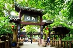 """鹤鸣茶社,是成都万家茶社""""祖师爷""""级别的老茶馆。"""