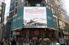 纽约时报广场发文:华夏同胞相约全球最美心灵之旅