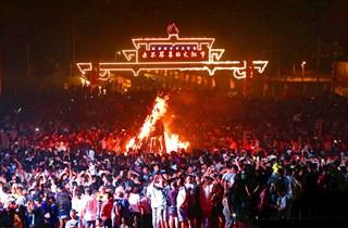四川凉山:彝族火把节