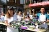 四川内江:包粽子比赛迎端午