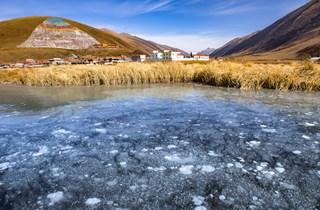 道孚县 ,青藏高原上的一片净土。