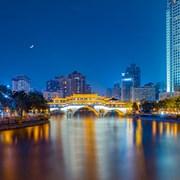 安顺廊桥月夜